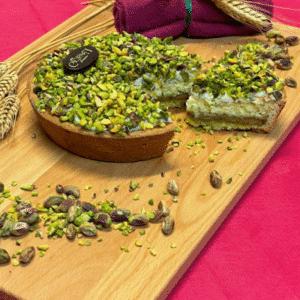 Pastiera grano e pistacchio